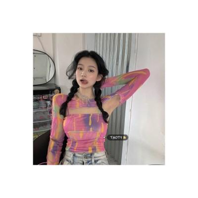 【送料無料】レトロ デザイン 感 心 機 シャツ 女 春 韓国風 着やせ | 346770_A64763-3581409