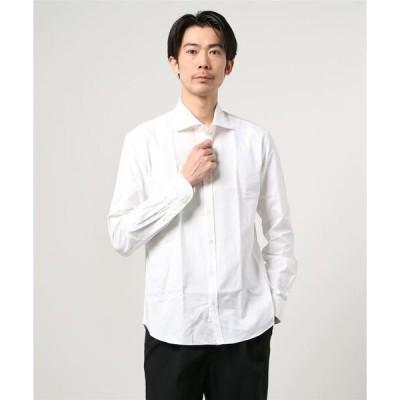 シャツ ブラウス GIANNETTO / 別注 オックスフォード ワイドカラーシャツ