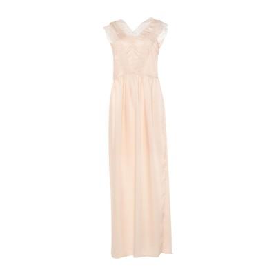 RUE•8ISQUIT ロングワンピース&ドレス アイボリー 46 ポリエステル 100% ロングワンピース&ドレス