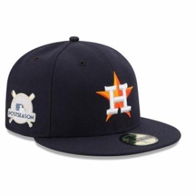 New Era ニュー エラ スポーツ用品  New Era Houston Astros Navy 2017 Postseason Side Patch 59FIFTY Fitted Hat