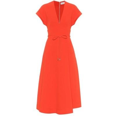 レベッカ ヴァランス Rebecca Vallance レディース ワンピース ミドル丈 ワンピース・ドレス galerie crepe midi dress Red