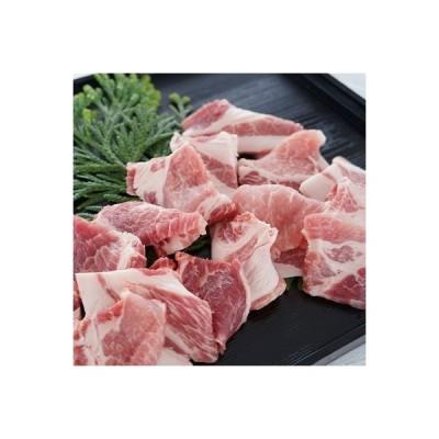 洲本市 ふるさと納税 淡路島産豚肉 焼肉用カット 1.1kg◆BG19