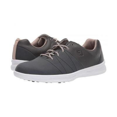 FootJoy フットジョイ メンズ 男性用 シューズ 靴 スニーカー 運動靴 Contour Casual - Charcoal