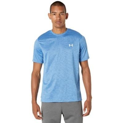 アンダーアーマー シャツ トップス メンズ Training Vent 2.0 Short Sleeve T-Shirt River/White