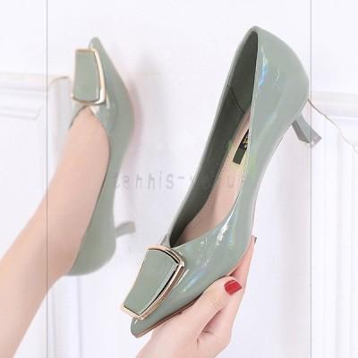 パンプス ハイヒール ピンヒール 痛くない 春 夏 レディース シューズ 靴 二次会 パーティー 結婚式 二次会 美脚 3cm