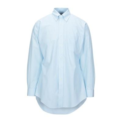 ブルックス ブラザーズ BROOKS BROTHERS シャツ スカイブルー 17 コットン 100% シャツ