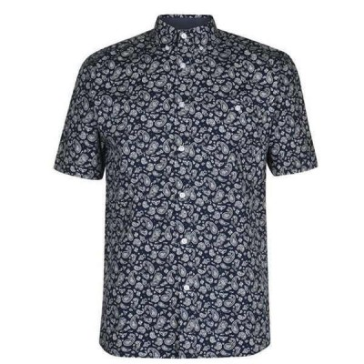 ピエールカルダン シャツ メンズ トップス Short Sleeve Geometric Shirt Mens