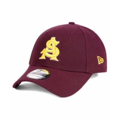 ニューエラ メンズ 帽子 アクセサリー Arizona State Sun Devils League 9FORTY Adjustable Cap Maroon