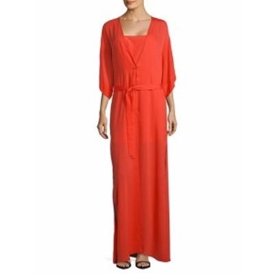 ハルストンヘリテージ レディース ワンピース Two-Piece Slip and Wrap Dress Set