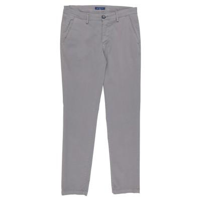 YAN SIMMON パンツ グレー 30 コットン 98% / ポリウレタン 2% パンツ