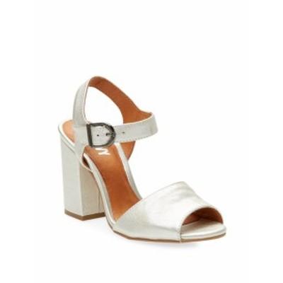 レンビー レディース シューズ サンダル Brocade Block Heel Sandals