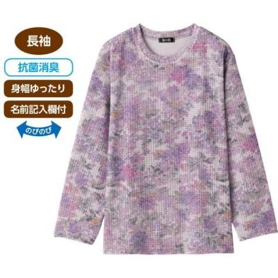 婦人チリメンニットTシャツ 98430 肌触りのよい素材で着心地がいい 日本製