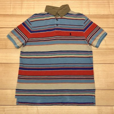 【USED】(ユーズド)POLO by Ralph Lauren 半袖 ポロシャツ