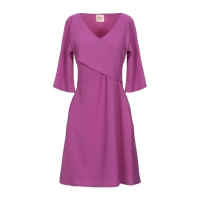 MÊME ROAD ミニワンピース&ドレス ライトパープル 42 ポリエステル 97% / ポリウレタン 3% ミニワンピース&ドレス