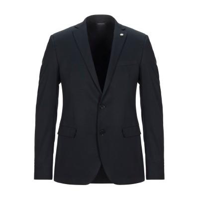マニュエル リッツ MANUEL RITZ テーラードジャケット ブラック 50 ポリエステル 64% / レーヨン 34% / ポリウレタン 2%
