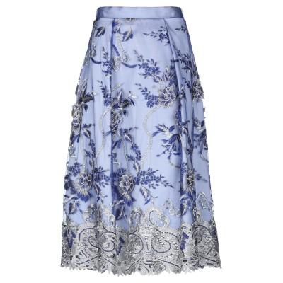 ATELIER NICOLA D'ERRICO 7分丈スカート ブルー 42 ナイロン 100% 7分丈スカート