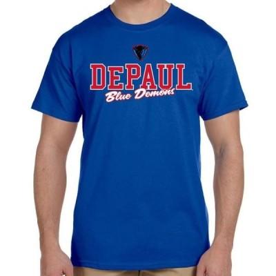ユニセックス スポーツリーグ アメリカ大学スポーツ J2 Sport DePaul Blue Demons NCAA Campus Script T-Shirt Tシャツ