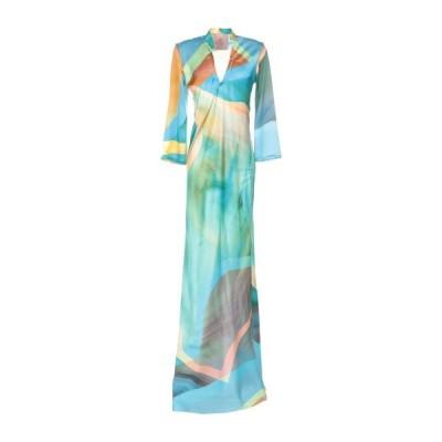 KITAGI シルクドレス ファッション  レディースファッション  ドレス、ブライダル  パーティドレス アジュールブルー