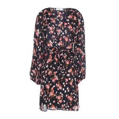 エー・エル・シー A.L.C. ミニワンピース&ドレス ブラック 4 シルク 100% ミニワンピース&ドレス