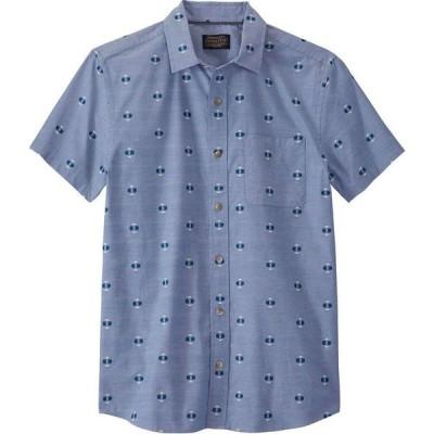 ペンドルトン Pendleton メンズ 半袖シャツ トップス Carson SS Shirt Blue Chambray