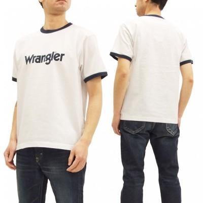 ラングラー 半袖Tシャツ WT5026 Wrangler BOXY-FIT リンガーTシャツ 白 新品