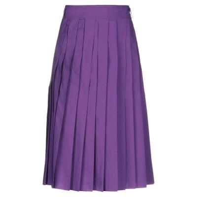 アリジ ALYSI 7分丈スカート モーブ 40 コットン 100% 7分丈スカート