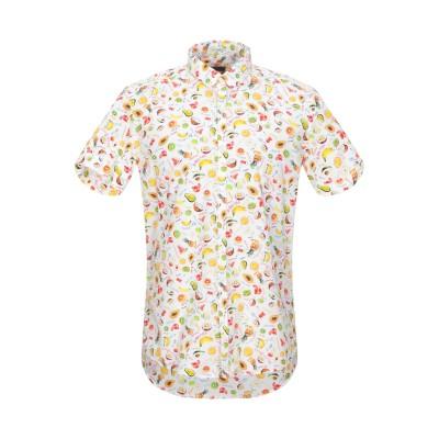 HIMON'S シャツ ホワイト 41 コットン 100% シャツ