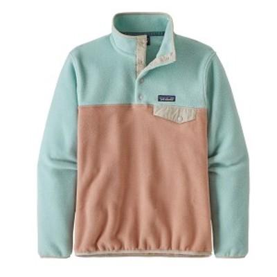 パタゴニア レディース パーカー・スウェット アウター Patagonia Lightweight Synchilla Snap-T Pullover Fleece - Women's Scotch Pink