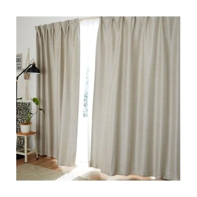 【送料無料!】光沢が美しいざっくり生地の遮光・防炎カーテン&遮熱・防炎・昼間見えにくい・UVカットレースセット カーテン&レースセット, Curtains, sheer curtains, net curtains(ニッセン、nissen)