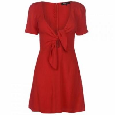 ファイヤートラップ Firetrap レディース ワンピース ワンピース・ドレス Blackseal Knot Dress Red