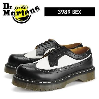 ドクターマーチン Dr.Martens 5アイ ウィングチップ ブーツ ベックスソール バイカラー メンズ レディース レザー 厚底 5 EYE