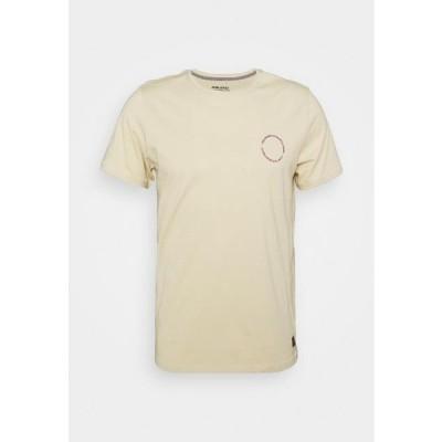 ブレンド メンズ ファッション TEE - Print T-shirt - oyster gray