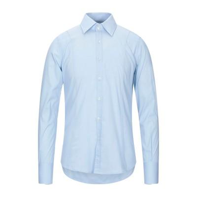 MARCIANO シャツ スカイブルー S コットン 97% / ポリウレタン 3% シャツ