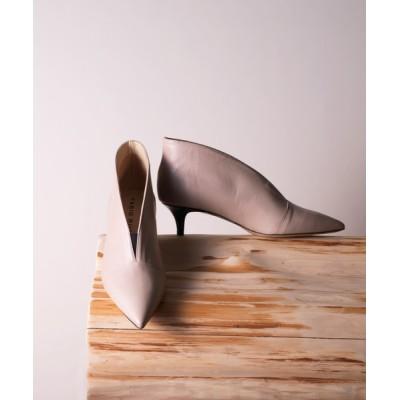 FABIO RUSCONI / FABIO RUSCONI(ファビオ ルスコーニ)/ポインテッドトゥ Vカット ショートブーツ WOMEN シューズ > ブーツ