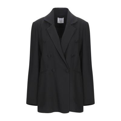 LOUXURY テーラードジャケット ブラック M レーヨン 100% テーラードジャケット