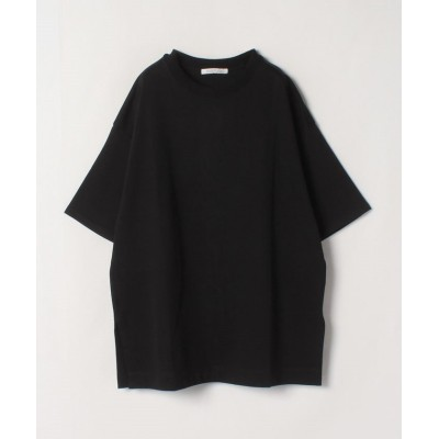 【ハウス オブ ロータス】 オーガニックコットンビッグTシャツ レディース ブラック 2 HOUSE OF LOTUS