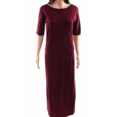 max マックス ファッション ドレス WEEKEND MAX MARA NEW Red Womens Small S Midi Boat Neck Maxi Dress