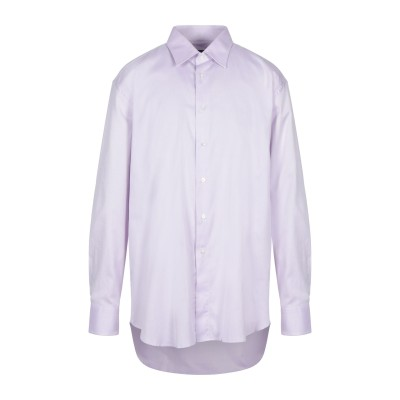カナーリ CANALI シャツ ピンク 46 コットン 100% シャツ