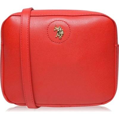 ユーエスポロアッスン US Polo Assn レディース ショルダーバッグ カメラバッグ バッグ US Jones Camera Cross Body Bag RED