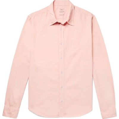 セーブカーキユナイテッド S.K.U. SAVE KHAKI UNITED メンズ シャツ トップス Solid Color Shirt Light pink