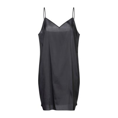 BRUNO MANETTI ミニワンピース&ドレス ブラック 46 ポリエステル 95% / ポリウレタン 5% ミニワンピース&ドレス