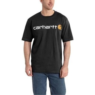 カーハート メンズ Tシャツ トップス Signature Logo Short-Sleeve T-Shirt
