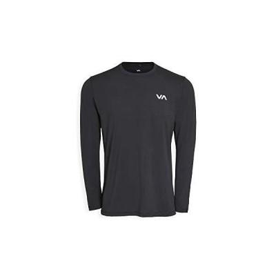 海外取寄品--RVCA Sport メンズ VA スポーツベント 長袖Tシャツ US サイズ: X-Large カラー: ブラック