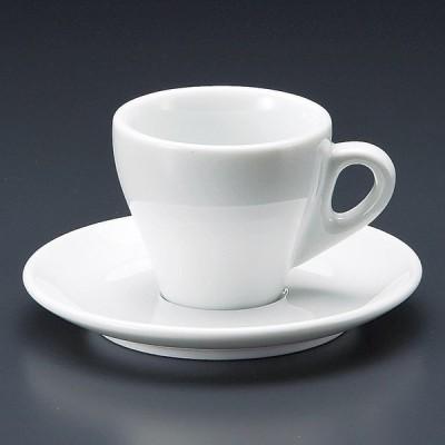陶雅 プリーツ エスプレッソ碗皿セット