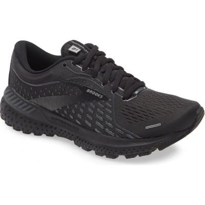 ブルックス BROOKS レディース ランニング・ウォーキング シューズ・靴 Adrenaline GTS 21 Running Shoe Black/Black/Ebony