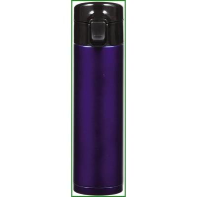 パール金属 カフェマグ ワンタッチボトル350 ブルー スクリュー栓付 HB-4909|b03