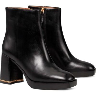 トリー バーチ TORY BURCH レディース ブーツ シューズ・靴 Ruby Block Heel Bootie Perfect Black