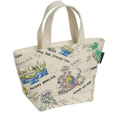 お弁当箱 お弁当用袋 ディズニー お弁当の持ち歩きに!保冷トートバッグ カラー 「トイ・ストーリー」