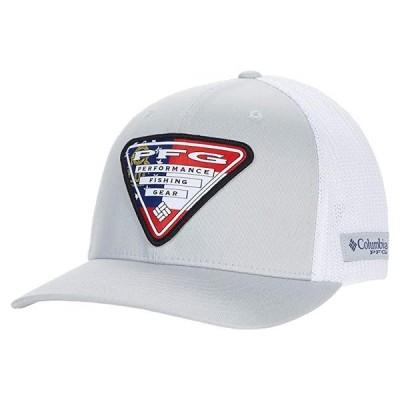 コロンビア PFG Mesh Stateside メンズ 帽子 Cool Grey/Georgia Triangle