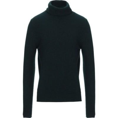メッサジェリエ MESSAGERIE メンズ ニット・セーター トップス cashmere blend Dark green